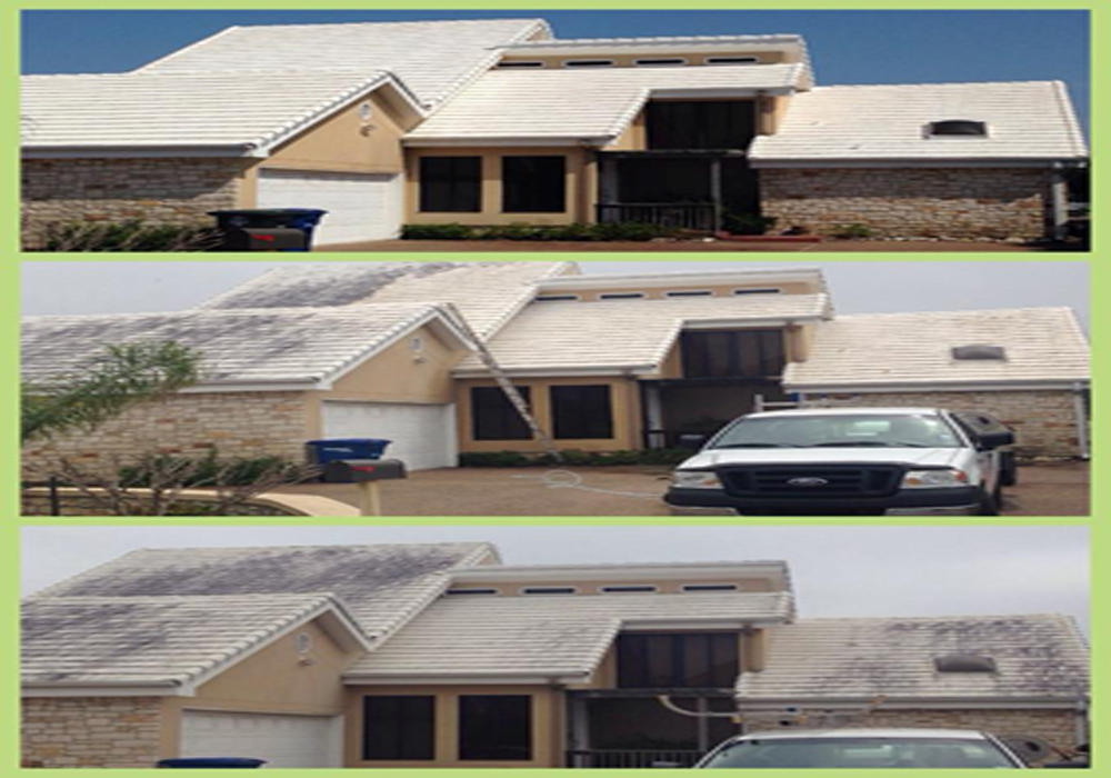 Soft Wash Roof Cleaning Phoenix Clean